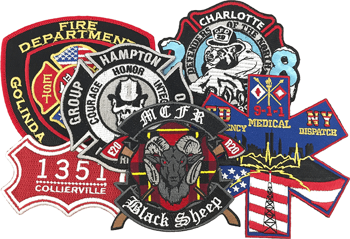Wholesale Fire Department Patches